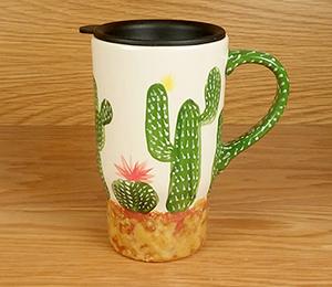 Menlo Park Cactus Travel Mug