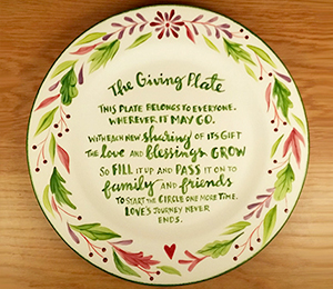 Menlo Park The Giving Plate