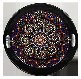 Menlo Park Mosaic Mandala Tray