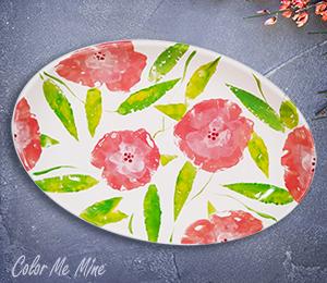 Menlo Park Floral Paper Stamping
