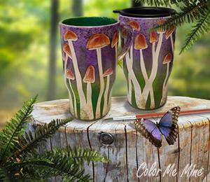 Menlo Park Mushroom Mugs