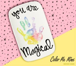 Menlo Park Rainbow Hand-print