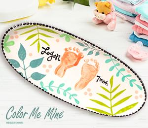 Menlo Park Tropical Baby Tray