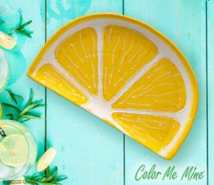 Menlo Park Lemon Wedge