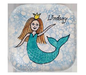 Menlo Park Mermaid Plate