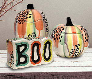 Menlo Park Drippy Pumpkin Box